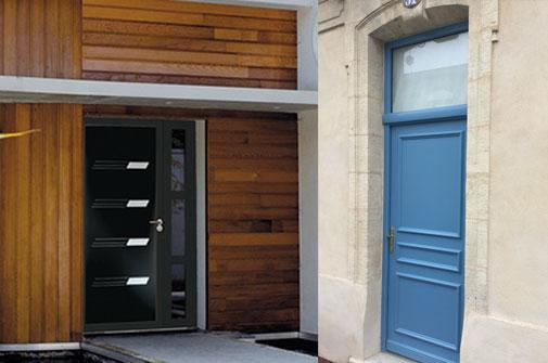 les menuisiers de france bordeaux merignac porte entree maison acier design pvc alu et bois. Black Bedroom Furniture Sets. Home Design Ideas